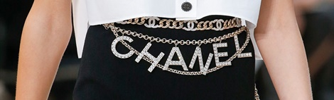 Chanel Lente/Zomer 2019: De revival van de Chain' brilketting